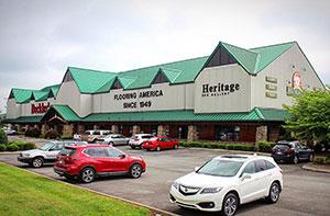Becklers Flooring Retail in Dalton, Georgia | Becklers is a Hallmark Floors Spotlight dealer and