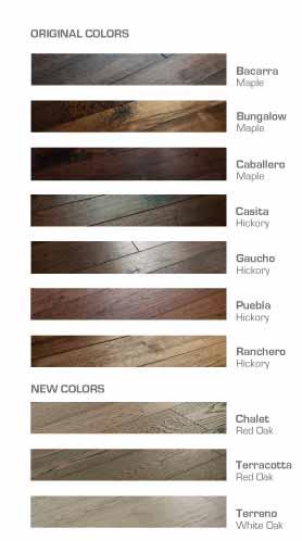 Monterey Color Chart 2018