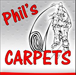 Phils Carpets Logo in Sevierville TN
