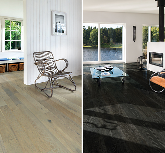 choosing a color of flooring