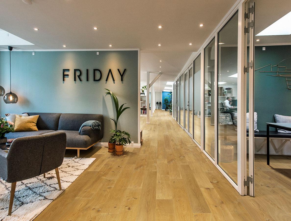Malibu, Oak, for the Alta Vista Hardwood commercial flooring collection by Hallmark Floors.