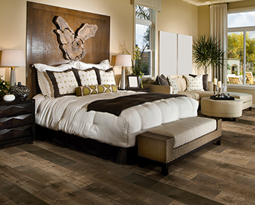 Photo is Marquis, Maple form the Courtier waterproof flooring collection.