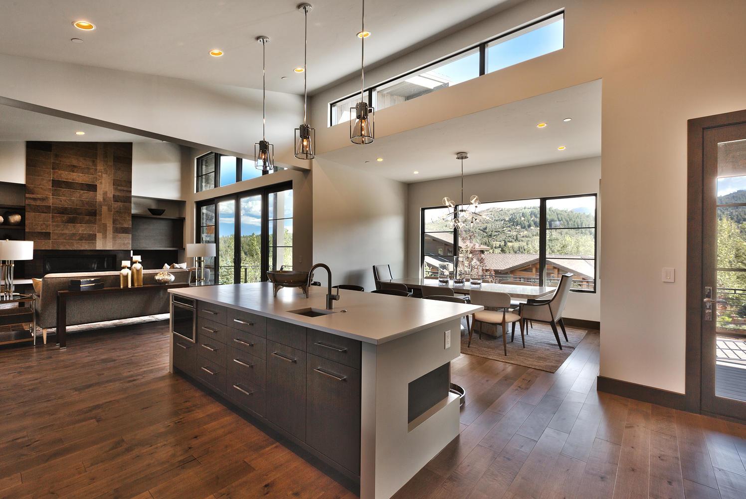 Hallmark Floors - Monterey - Casita - Hickory - Park City Utah - Kitchen