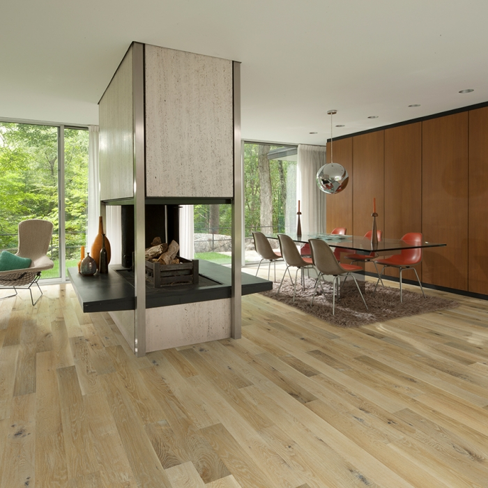 Product Crestline Solid Monroe Oak Living room by Hallmark Floors