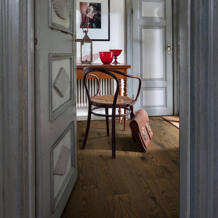 Product Crestline Solid Porter Red Oak hallway by Hallmark Floors