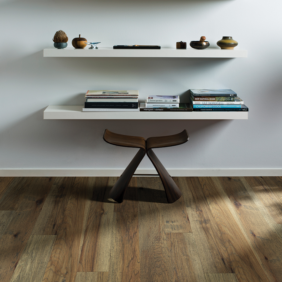 Product Crestline Solid Sanford Hickory by Hallmark Floors