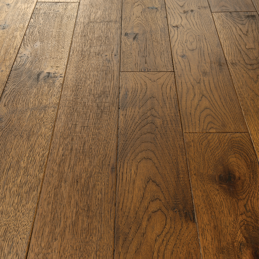 Product Crestline Solid Stratton Hickory Vignette by Hallmark Floors