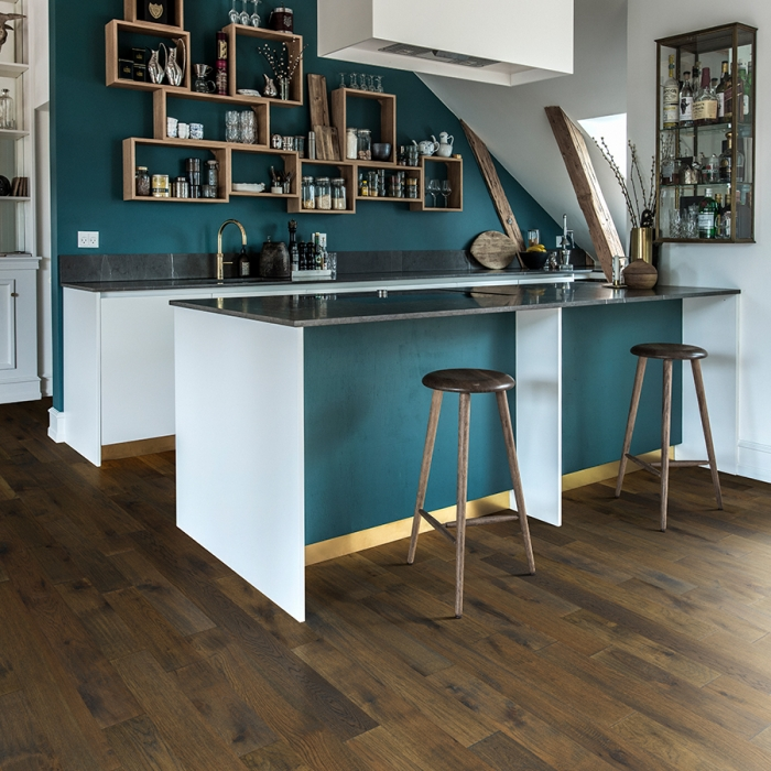 Product Crestline Solid Windham Hickory room by Hallmark Floors