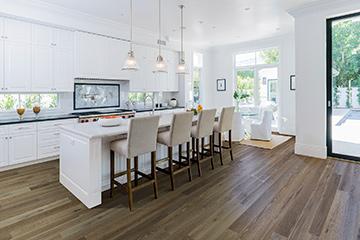 Product Haystack Oak, Crestline Solid in a Kitchen by Hallmark Floors