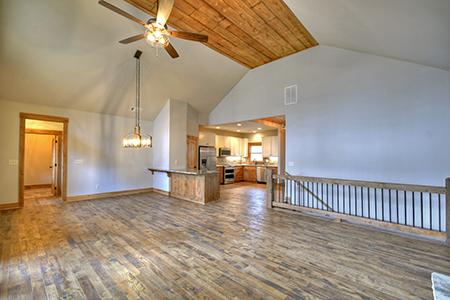 Hallmark Floors' Organic Solid, Tulsi Hickory installation completed by Dalton Wholesale Floors