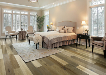Natural Board Variation | The color of each wood plank will naturally vary due to the natural characteristics of the tree. Natural wood floors will reflect this variation more than stained floors because the stain hides the natural beauty of the wood.