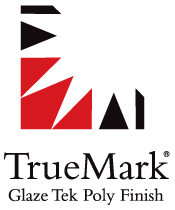 Truemark Glaze Tek Poly finish is exclusively available on Hallmark Floors' hardwood flooring.