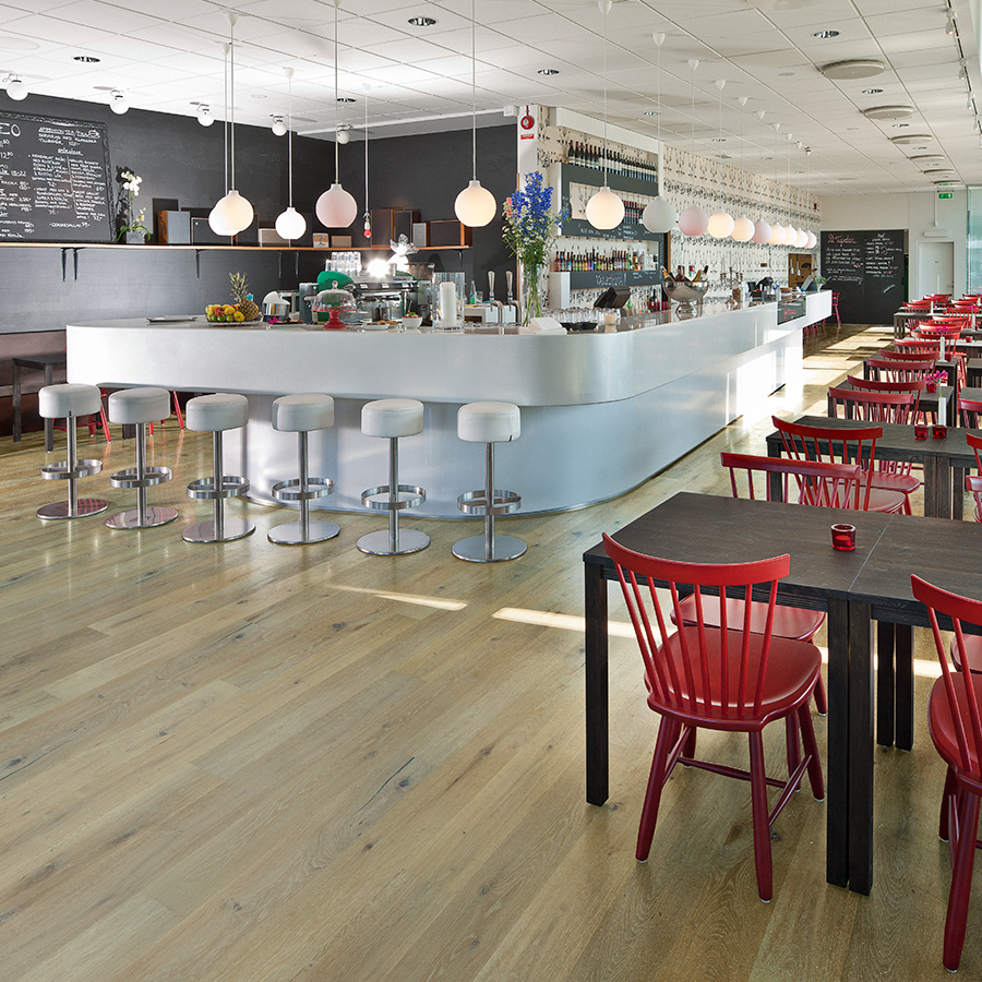 Best commercial flooring for hospitality. Alta Vista Balboa Oak Commercial Hardwood Flooring