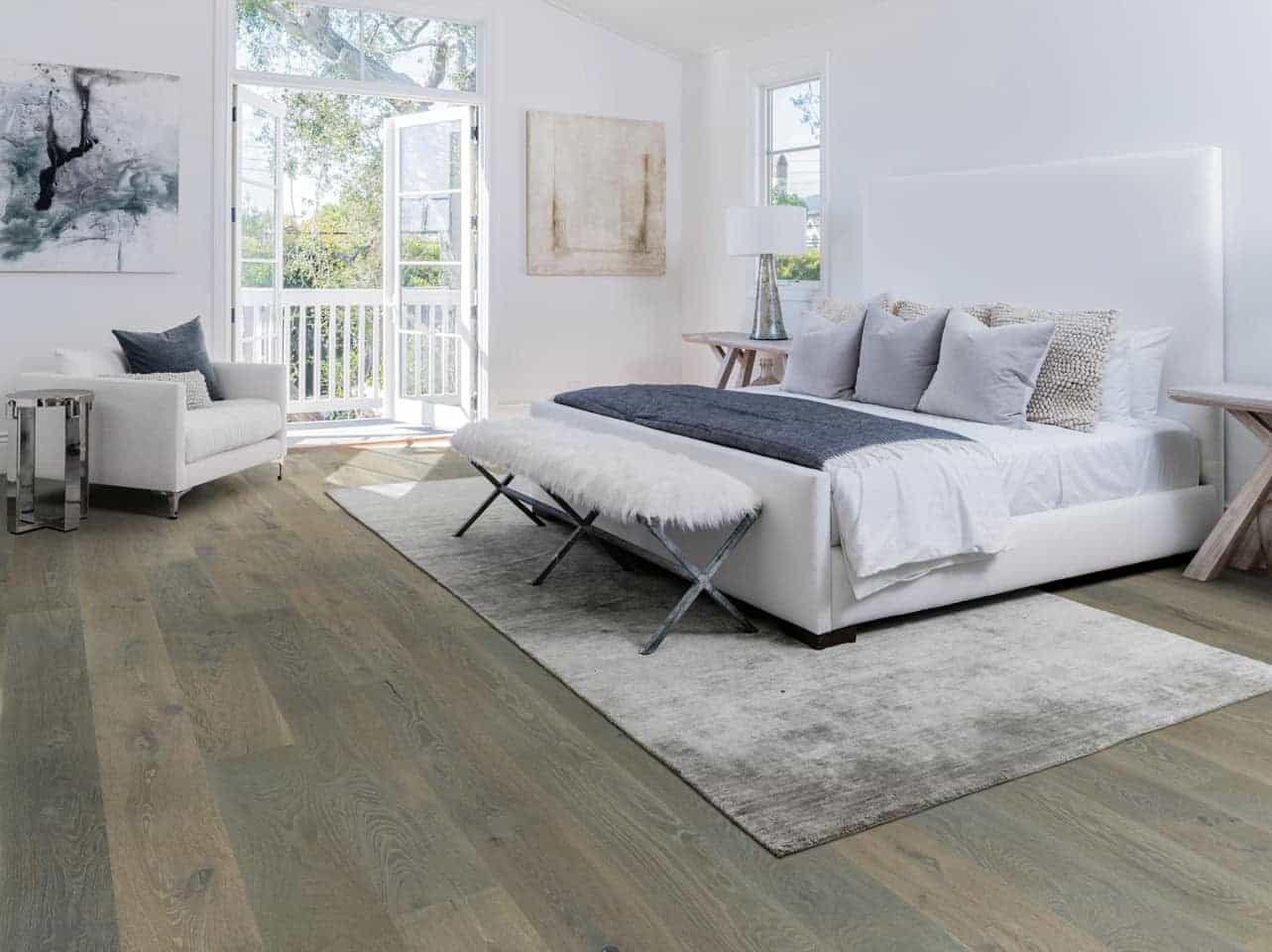Healthy indoor air quality certified. The product is Big Sur from the Hallmark Floors' Alta Vista engineered hardwood floors collection. It is one of our new wood floor colors.
