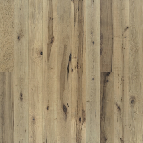Orris Maple Hardwood Floors from the True Hardwood Flooring Collection by Hallmark Floors. True Hardwood Flooring where the color goes throughout the surface layer without using stains or dyes.