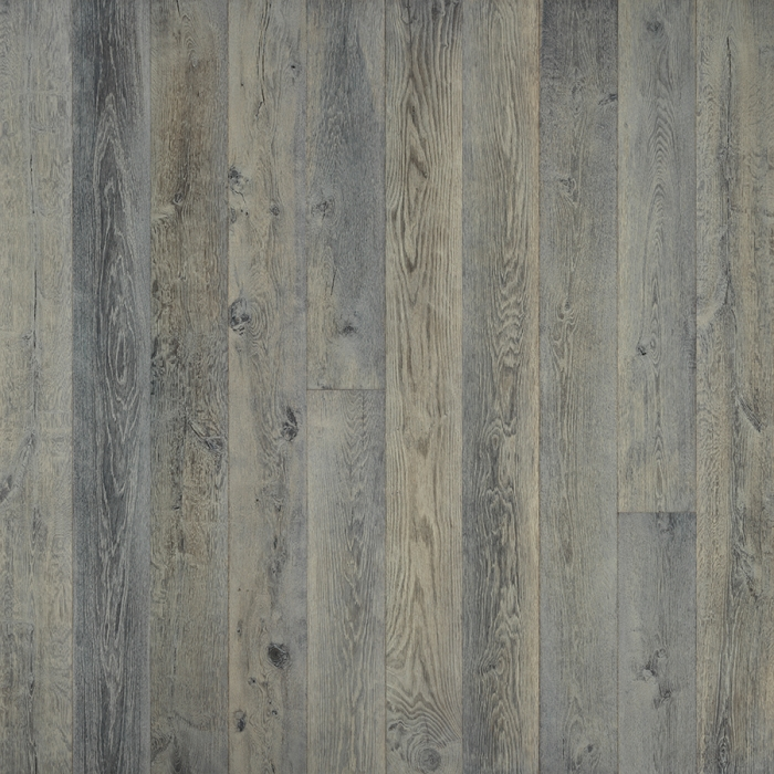 Silver Needle Oak Hardwood Floors from the True Hardwood Flooring Collection by Hallmark Floors. True Hardwood Flooring is an engineered wood floor where the color goes throughout the surface layer without using stains or dyes.