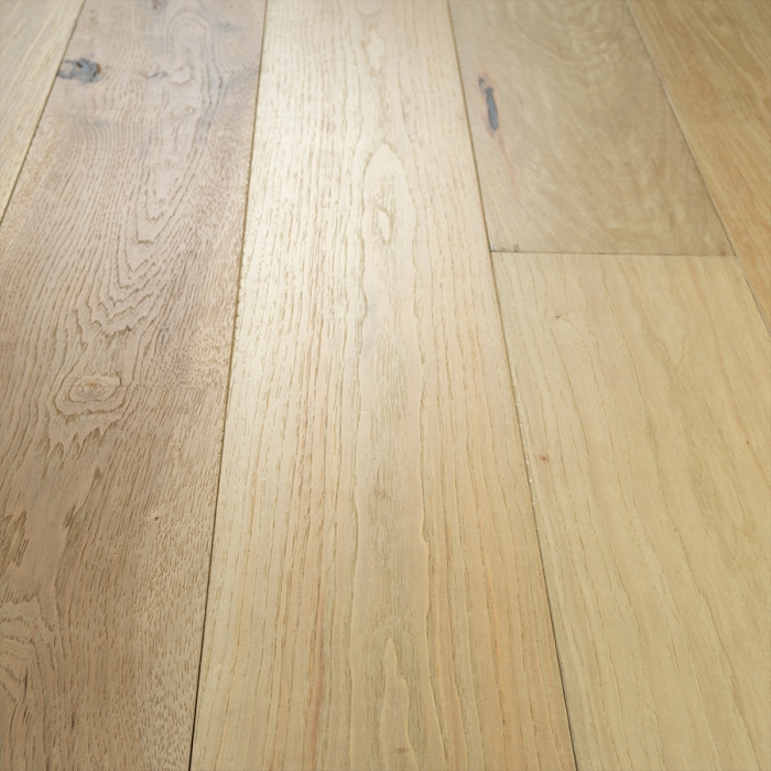 Orange Blossom Hickory hardwood Floors from the True Hardwood Flooring Collection by Hallmark Floors. True Hardwood Flooring where the color goes throughout the surface layer without using stains or dyes.