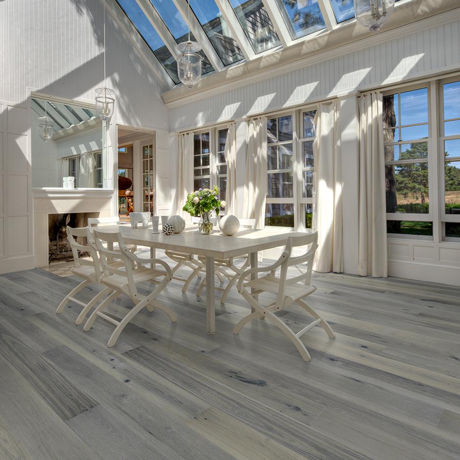 Jasmine Hickory Hardwood Floors from the True Hardwood Flooring Collection by Hallmark Floors