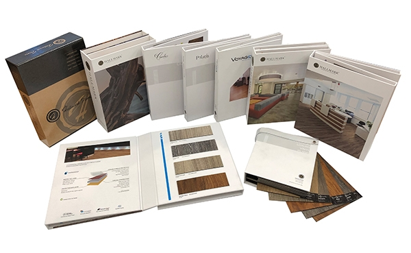 Commercial sales tools for Hallmark Floors commercial products for designers, interior architects and contractors