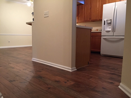 Hallmark Floors Monterey Puebla install by Carpet Depot in Roswell GA