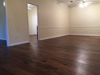 Hallmark Floors Monterey Puebla installation by Carpet Depot in Roswell GA