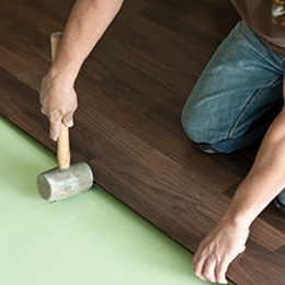 Hardwood Flooring installation demonstration demonstration
