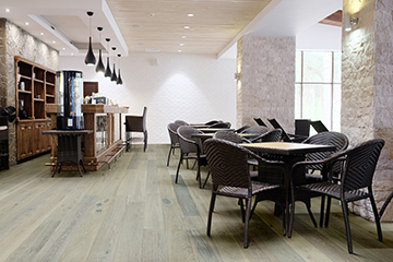 Novella Commercial Hardwood Flooring by Hallmark Floors. Beautiful commercail engineered wood floors.