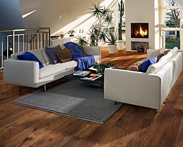 Product Gunpowder Oak, Organic 567 engineered hardwood flooring.