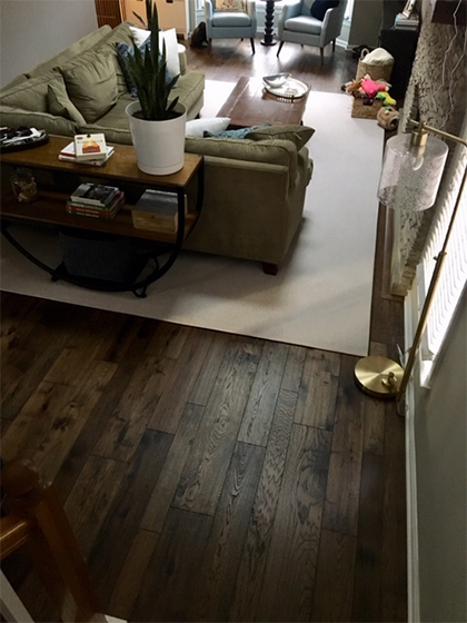 Monterey Casita Hickory Installation by Carpet Depot Spotlight Dealer for Hallmark Floors
