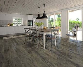 True has color that-goes throughout the wear layer. Product Magnolia from the True Collection by Hallmark Floors. In the True collection of hardwood engineered floors, the color goes all the way through to the core.