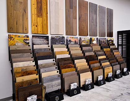 Four Seasons Hallmark Floors Hardwood selection in Myrtle Beach SC