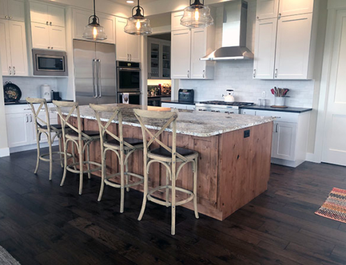 Modern Farmhouse Home with Gaucho Monterey Hardwood